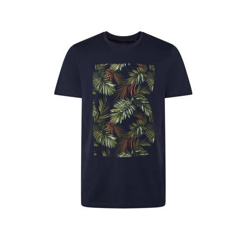 WE Fashion T-shirt met printopdruk royal navy