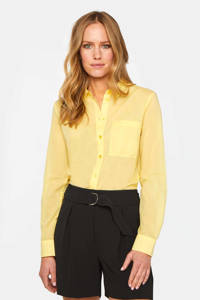 WE Fashion blouse geel, Geel