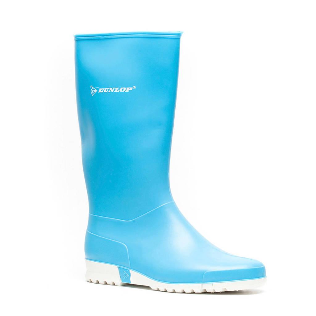 Dunlop   regenlaarzen blauw, Blauw