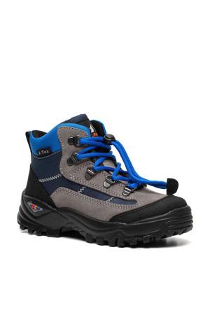 Mountain Peak   halfhoge wandelschoenen grijs/blauw jongens