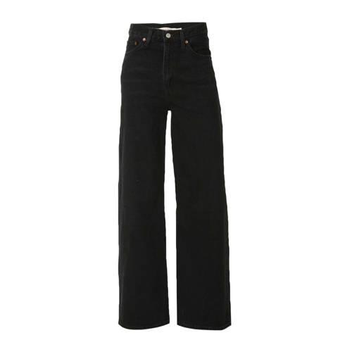 Levi's high waist loose fit ribcage jeans zwart