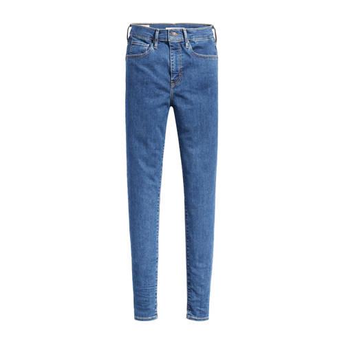 Levi's Mile high waist skinny jeans blauw
