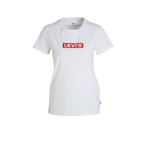 Levi's T-shirt met logo wit
