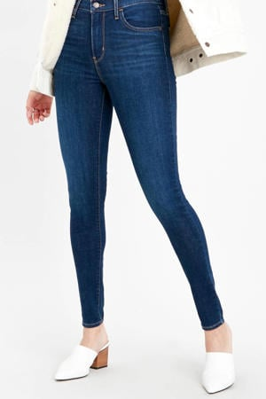 720 high waist skinny jeans dark denim