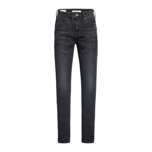 Levi's 721 high waist skinny jeans zwart