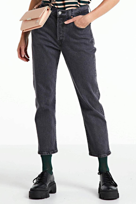 Levi's 501 mom jeans grijs, Grijs