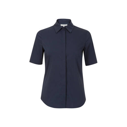 PROMISS blouse donkerblauw