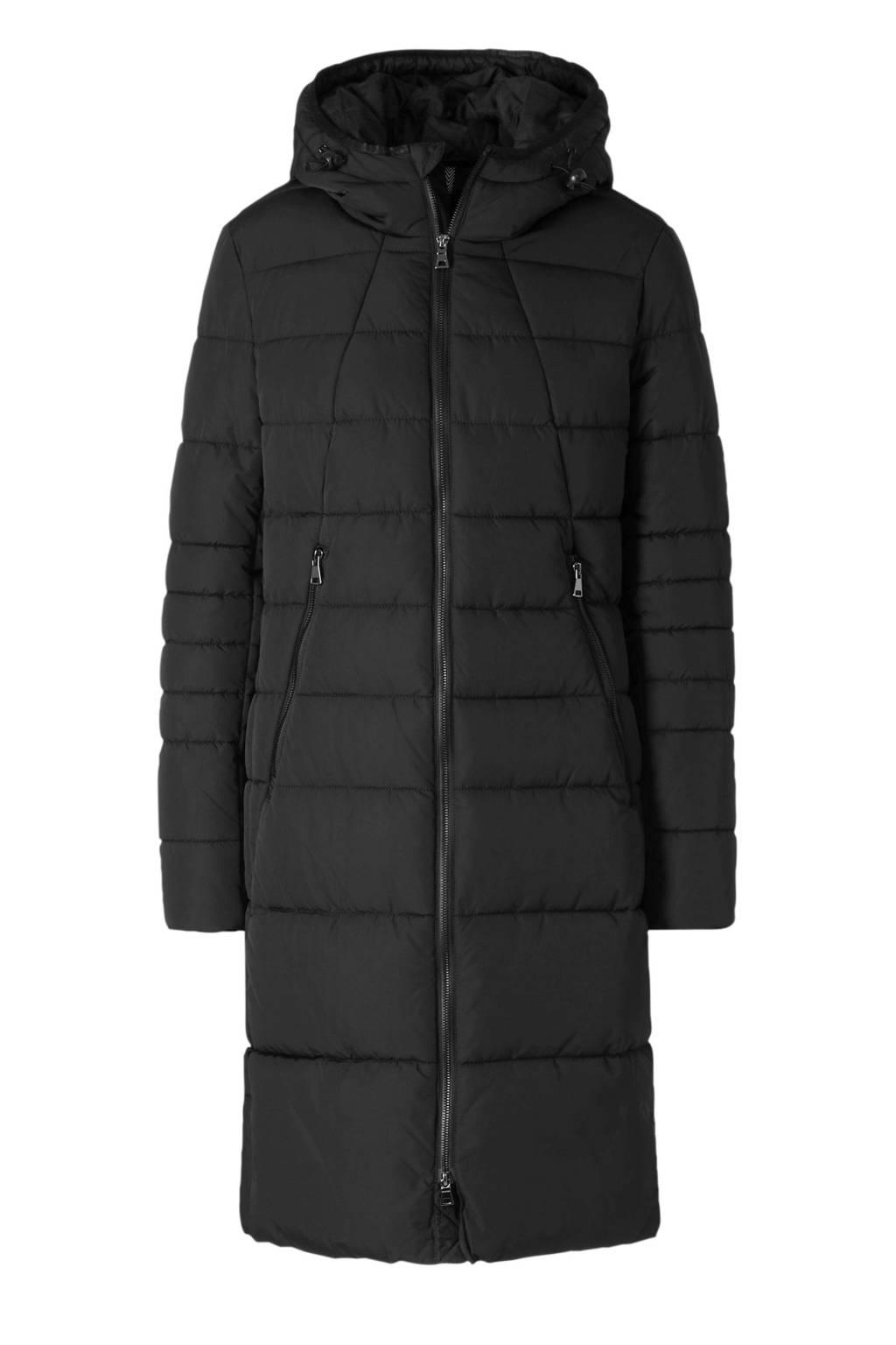 C&A Canda gewatteerde jas zwart, Zwart
