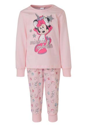 Disney @ pyjama printopdruk lichtroze