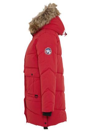 Clockhouse gewatteerde jas rood