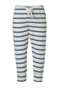 GAP baby gestreepte skinny broek wit/lichtblauw/bruin, Wit/lichtblauw/bruin