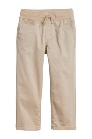 regular fit broek khaki