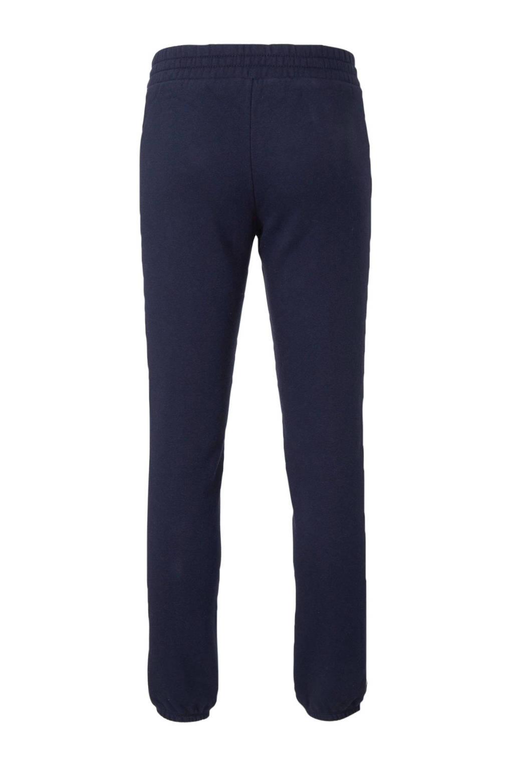 GAP skinny joggingbroek met zijstreep donkerblauw, Donkerblauw