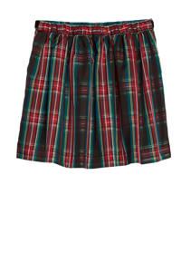 GAP geruite rok groen/rood, Groen/rood