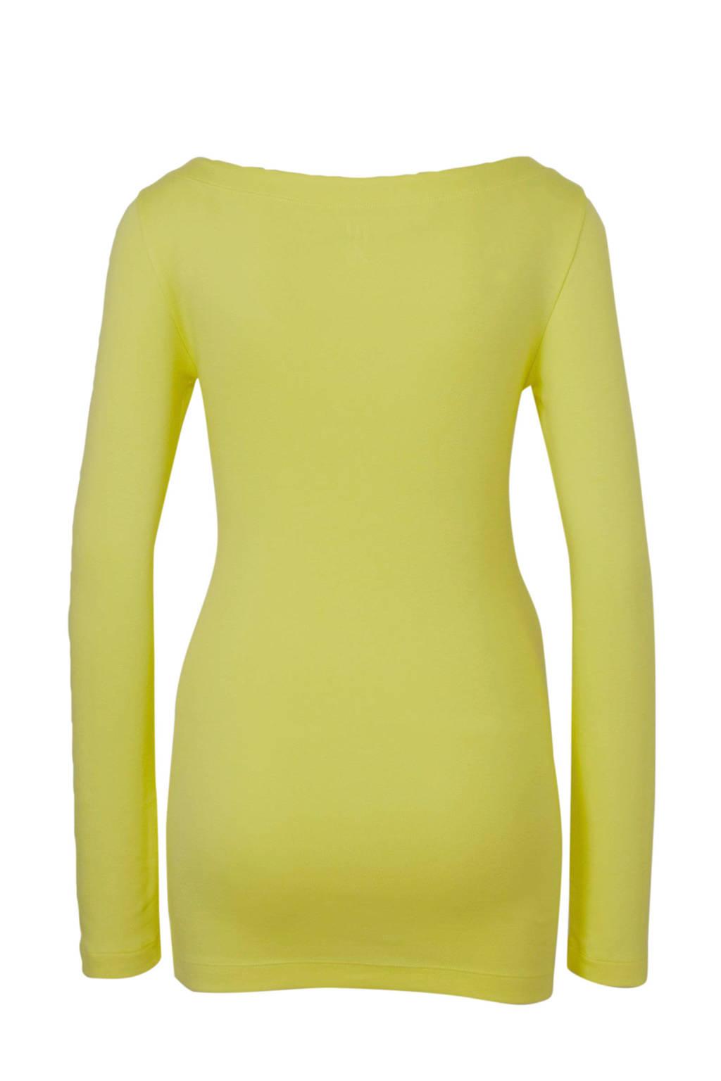 GAP zwangerschapslongsleeve geel, Geel