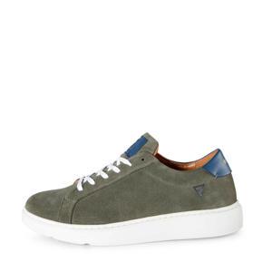 Rincon  suède sneakers olijfgroen