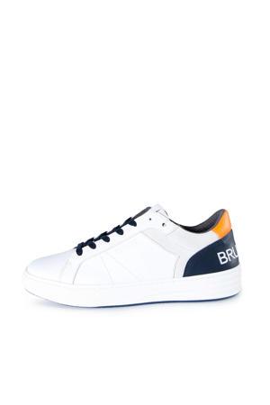 Bundoran  leren sneakers wit