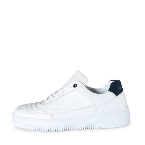 Brunotti Arugam leren sneakers wit