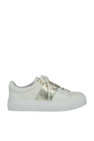 JV Leslie  leren sneakers ecru/goud
