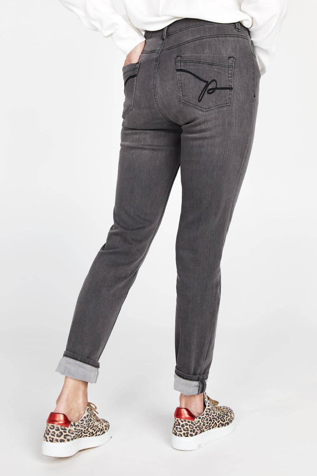 PROMISS slim fit jeans grijs, Grijs