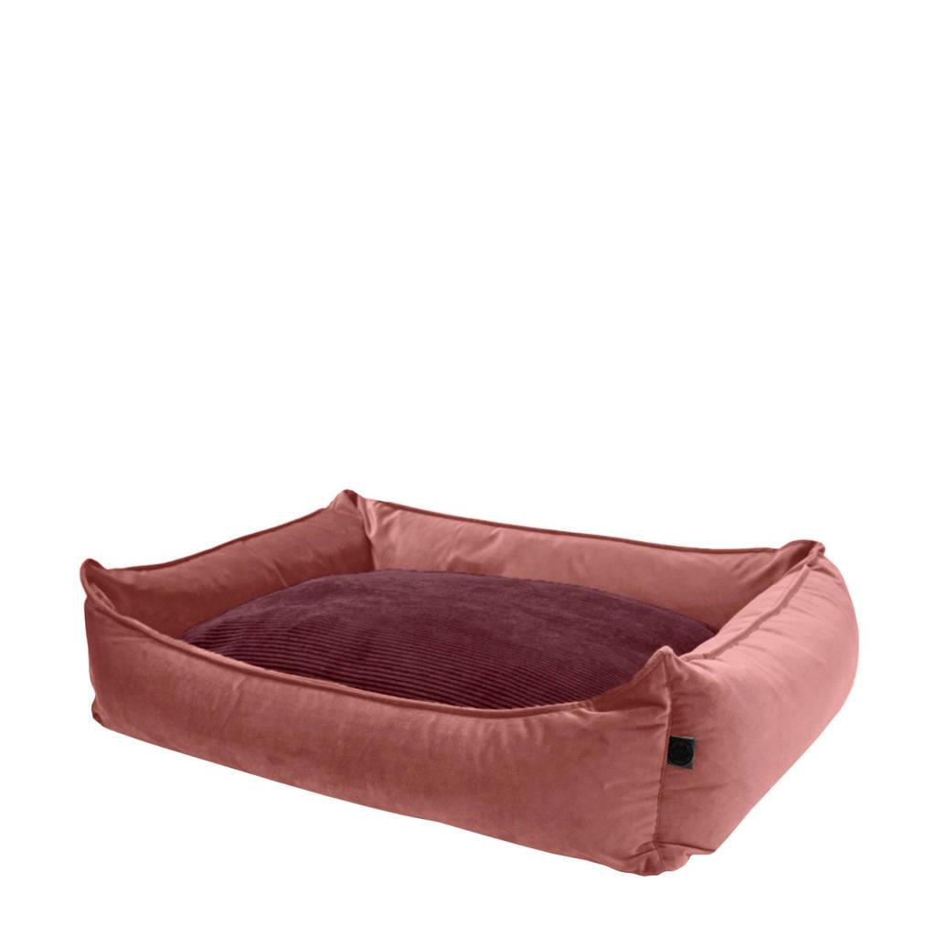 OVERSEAS hondenmand Velours (L), Roze