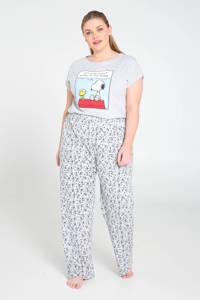 Paprika pyjamabroek met all over print grijs, Grijs