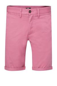 WE Fashion slim fit bermuda roze, Roze