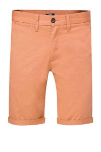 WE Fashion slim fit bermuda faded orange, Faded Orange