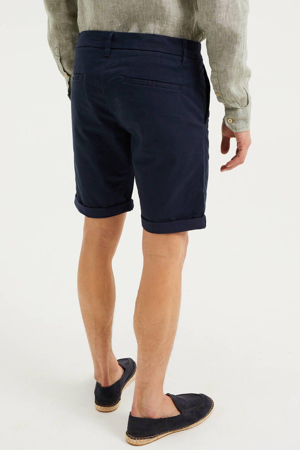 WE Fashion slim fit bermuda royal navy, Royal Navy