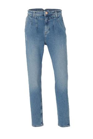 The Denim high waist mom jeans midblue