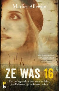 Ze was 16 - Marlies Allewijn