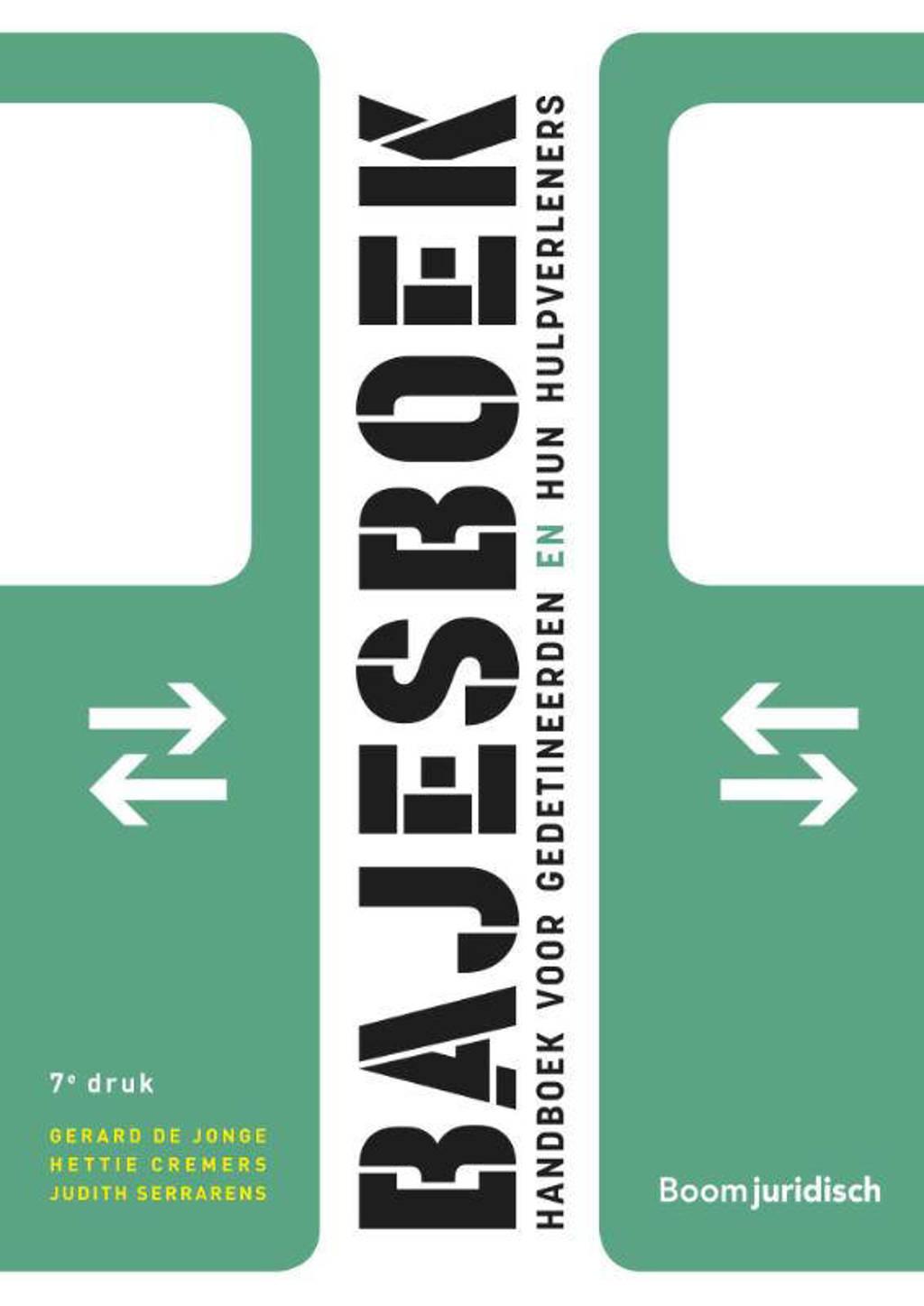 Bajesboek - Gerard de Jonge, Hettie Cremers en Judith Serrarens
