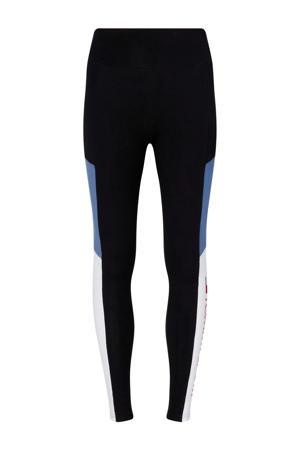 sportbroek zwart/blauw/wit