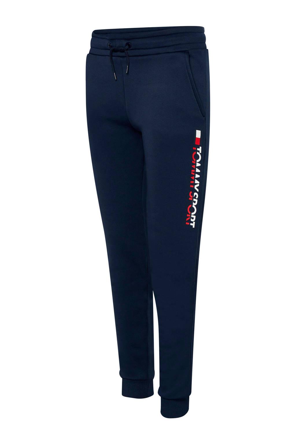 Tommy Hilfiger Sport joggingbroek donkerblauw, Donkerblauw