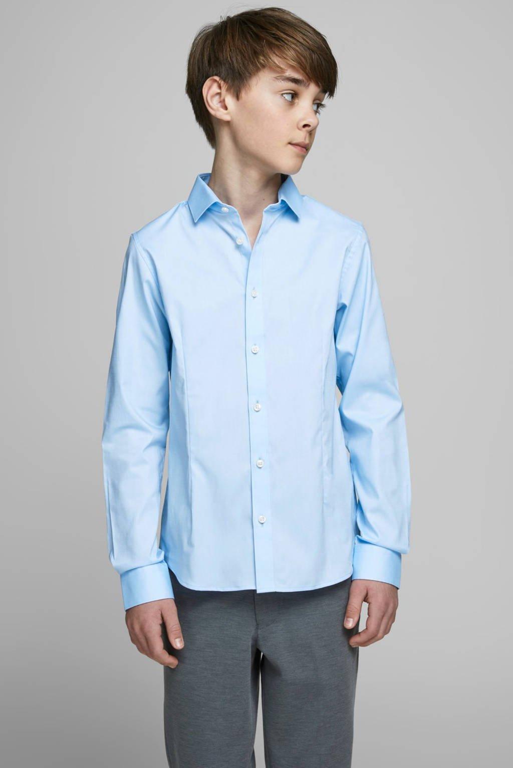 JACK & JONES JUNIOR overhemd Parma lichtblauw, Lichtblauw