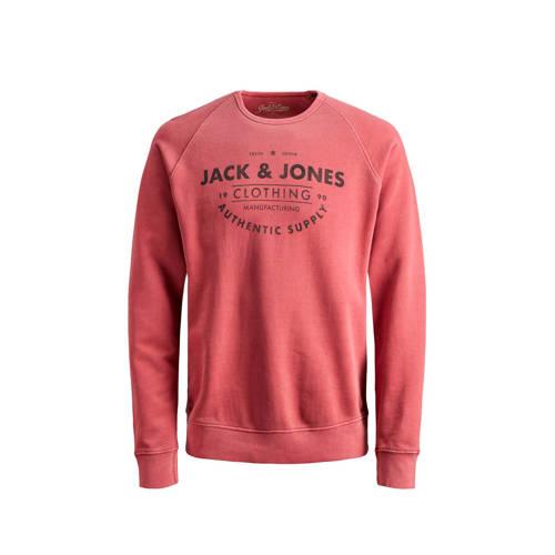 JACK & JONES JUNIOR sweater Jeans met printopd