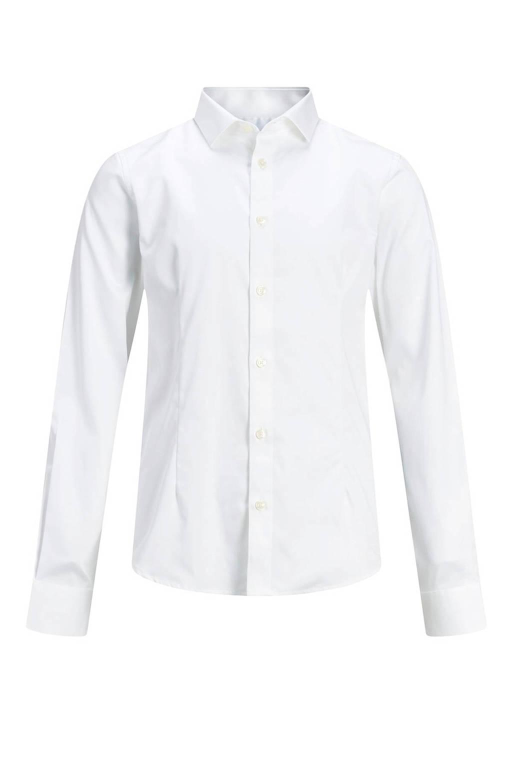 JACK & JONES JUNIOR overhemd Parma wit, Wit