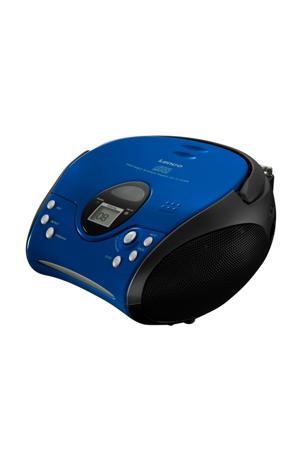 SCD-24 draagbare radio/CD speler blauw