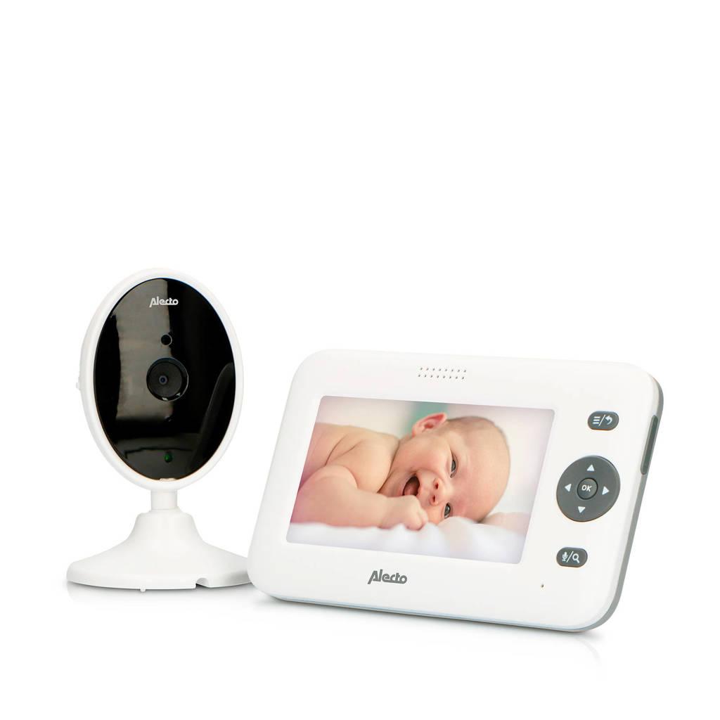 """Alecto  DVM-140 babyfoon met camera en 4.3"""" kleurenscherm, Wit"""