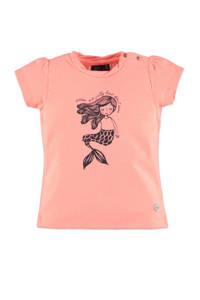 Babyface T-shirt met printopdruk roze, Roze