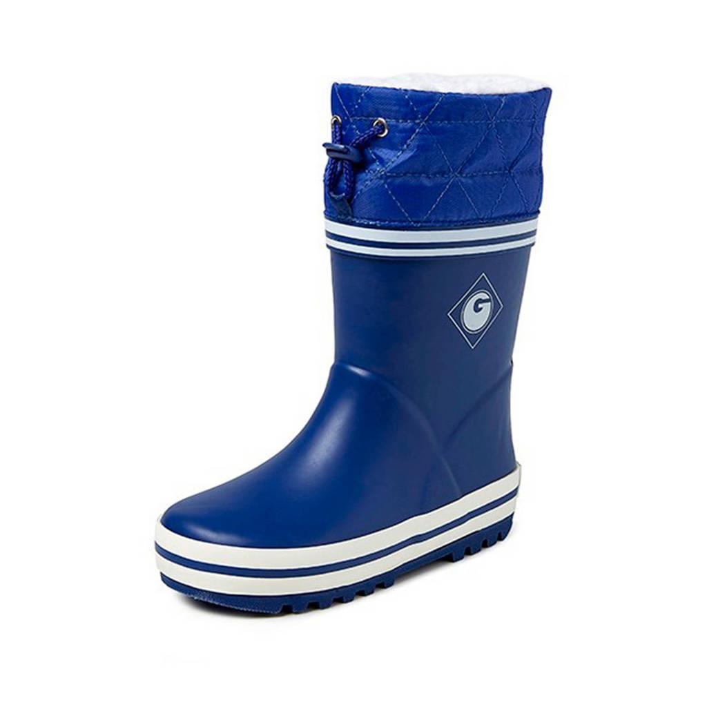 Gevavi   regenlaarzen blauw kids, Blauw