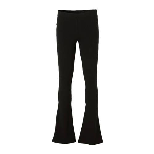 Geisha flared broek zwart