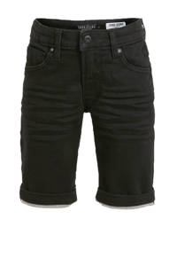 Cars regular fit jeans bermuda Tucky black used, Zwart