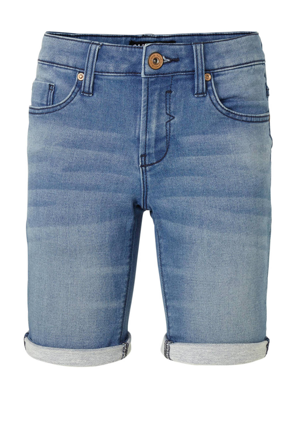 Cars regular fit jeans bermuda Tucky stone used, Stone used