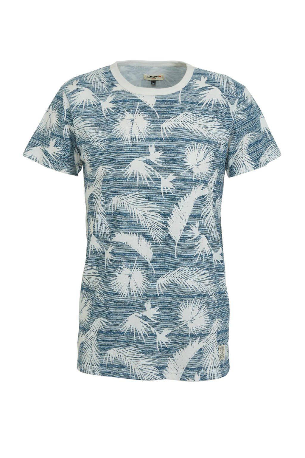 Icepeak outdoor T-shirt Mazon blauw/wit, Blauw/wit