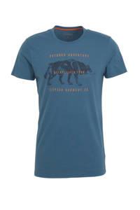 Icepeak outdoor T-shirt Baxter blauw, Blauw