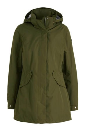 outdoor parka kaki