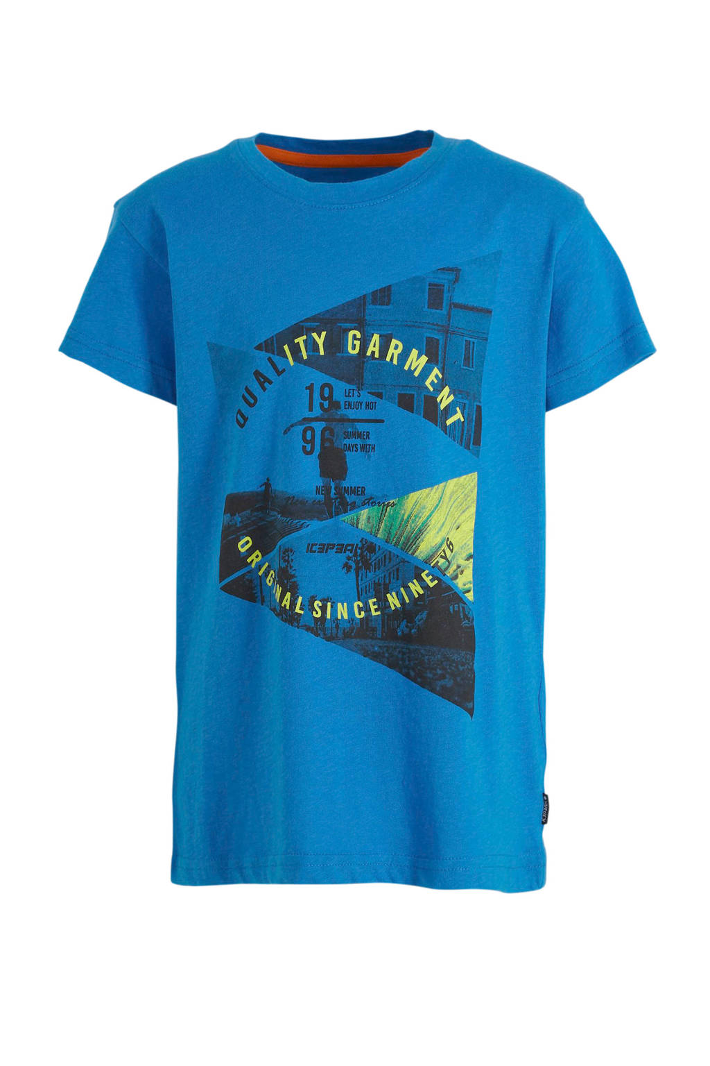 Icepeak T-shirt Millville Jr. blauw, Blauw