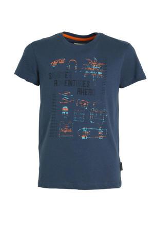 T-shirt Millville Jr. donkerblauw