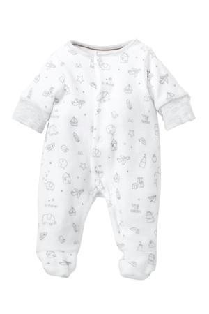 Baby Newborn boxpak met biologisch katoen wit